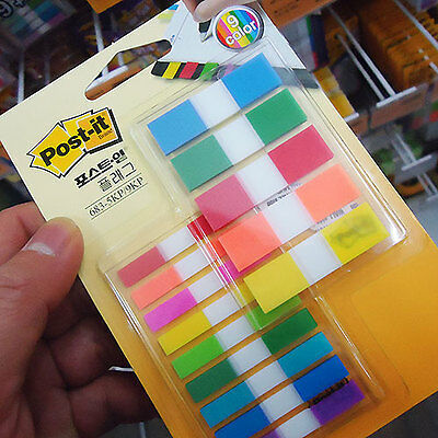 3M Post-it Flag 683-5KP/9KP Bookmark Point Sticky Note Plastic Paper Index Tabs