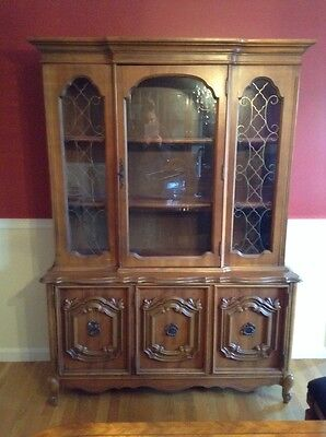 antique dinning hutch