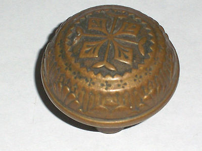 Antique Eastlake  Four Symmetry Vernacular Door Knob