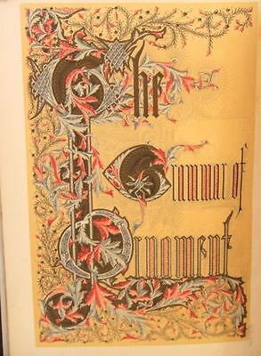 Grammar of Ornament by Owen Jones - 1st edition, 1868 with 112 plates - rare!