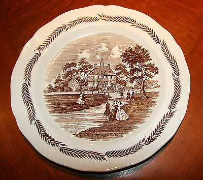 "ROYAL STAFFORDSHIRE J&G MEAKIN IRONSTONE COLONIAL PATTERN 10"" DINNER PLATE"