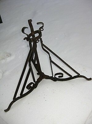 Antique Christmas Tree Stand  Germany blacksmith work