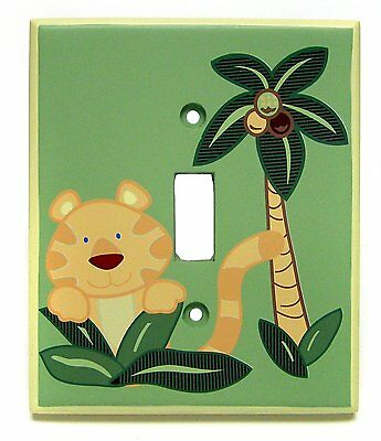 NoJo Jungle Babies Switch Plate Cover , New, Free Shipping