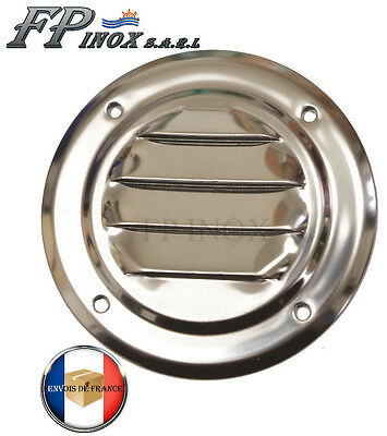 Grille Ronde 65 mm inox 316 Grille aération Ref 5330170