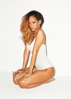 Rihanna 8x10 Glossy Photo Print  #R2