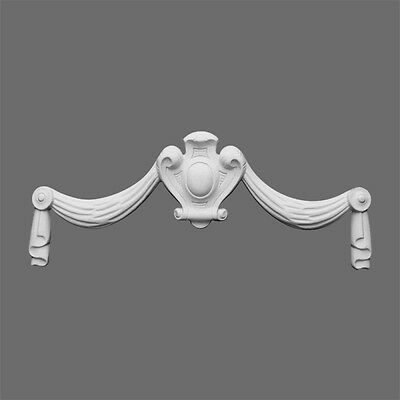 Swag Medallion Molding Accessory D1014 Orac Decor for ceiling wall door pediment