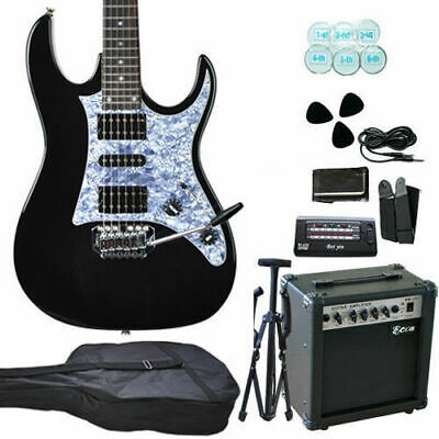 New Quality Electric Guitar with Guitar Tuner Bag pickup Amp Set