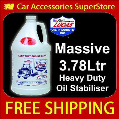 Lucas Heavy Duty Oil Stabiliser & GearBox Treatment 3.78Ltr Massive Size
