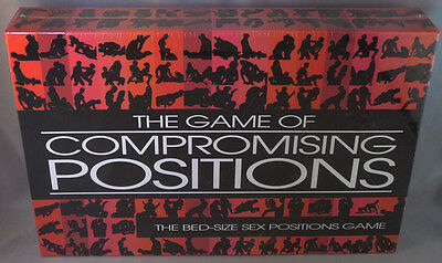 NEW The Game of Compromising Positions - Sexy & Sensual Adult Themed Game,SEALED