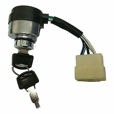 Portable Generator 6-Wire Ignition Key Switch