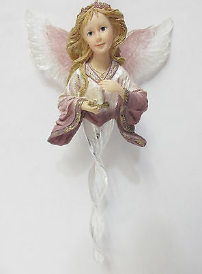 "Boyds 25105-1E ""Alessandra"" Guardian of Hope, Charming Angel Ornament, NIB"