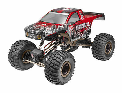 Redcat Everest-10 1/10 Scale Rock Crawler 2.4GHz Red RC Truck