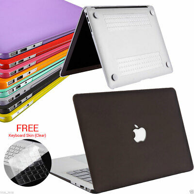 Frosted Matte Case For Apple Macbook Mac Air  11'' 11.6'' inch + Keyboard Cover