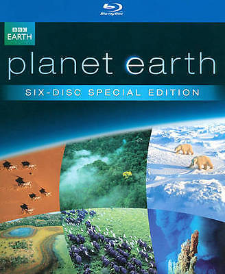 Planet Earth: The Complete Collection Blu-ray 6 Disc Set brand new sealed