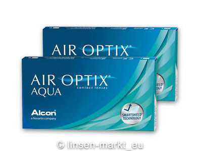 Air Optix AQUA ALCON 2x6 - ab -0.50 D bis -9.00 D - Neu&OVP