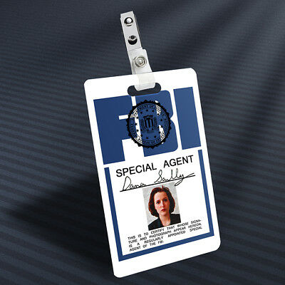 X-Files - Dana Scully Prop ID Badge (Vertical)