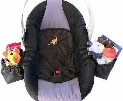 Baby Child Car Seat/Buggy Seatsaver Spill Proof Non Slip Storage Protector/Liner