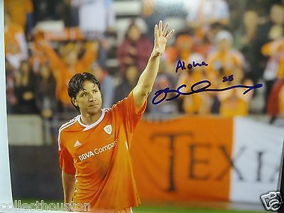 Houston Dynamo Brian Ching Signed Autographed 8 x 10 Photo G Farewell Game