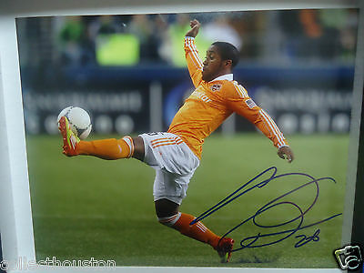 Houston Dynamo Corey Ashe Signed Autographed 8 x 10 photo A soccer MLS
