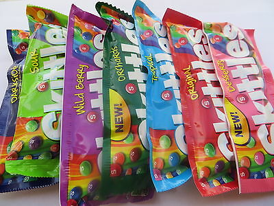 Skittles Candy - Choose The Flavor 1.8 - 2.17 ounce packs