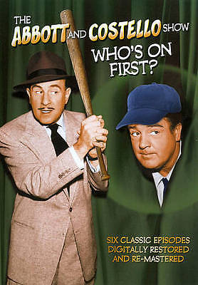 The Abbott and Costello Show: Who's on First? (DVD, 2011)