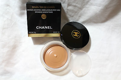 CHANEL Soleil Tan De Chanel -Bronzing Makeup Base, Bronze Universel, AUTHENTIC