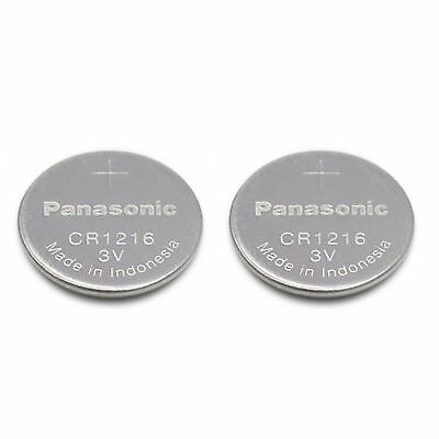 2 PANASONIC CR1216 ECR1216 CR 1216 3v Lithium Battery NEW