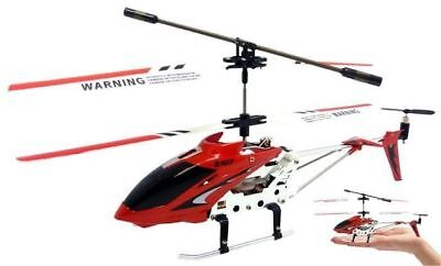 Syma S107G Red 3-Channel 3.5CH Mini Remote Control RC Helicopter Gyro Genuine