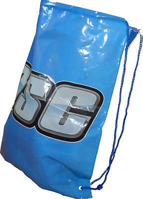Duffle bag Drawstring JD Sports Style Gym Bag Durable With Rope String Blue NEW