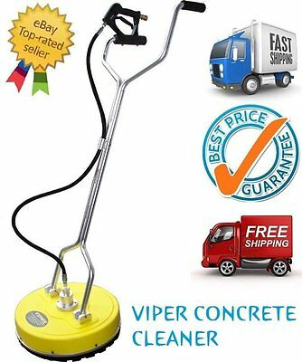NEW VIPER 20'' Flat Surface Concrete Cleaner Whirl-A-Way - BE the Best