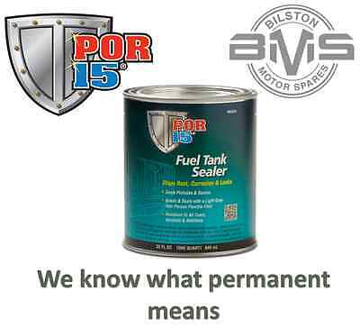POR-15 Petrol & Diesel Fuel Tank Sealer & Rust Prevention 236ml Seals Pinholes