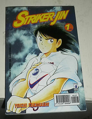 Striker Jin vol. 1 - Yoichi Takahashi - Ed. Star Comics - GN