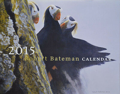 2015 Robert Bateman Calendar Birds Book Limited Quantity
