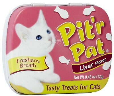 Pit'r Pat Cat Breath Tasty Treats - Liver Flavour
