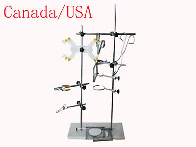 Newest Lab Support Stand Platform Clamp Brandreth Table For Test Tube Flask