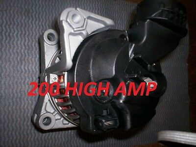 200 HIGH AMP BMW 525I Z3 X5 328I,328CI,330I,330CI,330XI,E46 ALTERNATOR 2001 2006