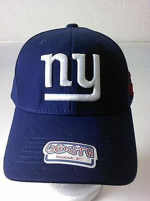 6a76c2e5 New York Giants Youth Blue Reebok Adjustable Cap NWT NFL NFC East Manning  Cruz