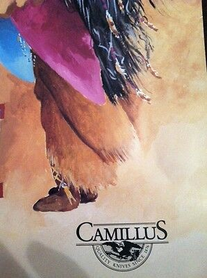 CAMILLUS KNIFE ADVERTISING POSTER
