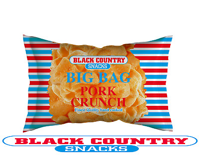 8 X 80g Big Bag Pork Scratchings (crunch)