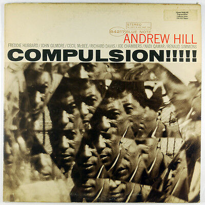 Andrew Hill ~ Compulsion!!!!! LP ~ Blue Note BST 84217 ~ VG+