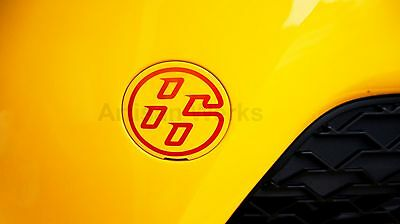 86 Front Tow Hook Cover Logo Vinyl Decal - FRS BRZ GT86 86 AE86 FT86 TRD JDM