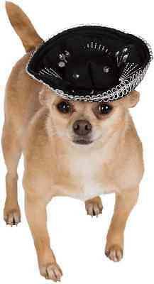 Sombrero Hat Mexican Mariachi Halloween Pet Dog Cat Costume Accessory 2 COLORS