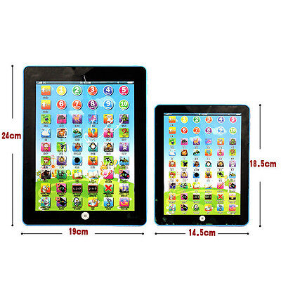 Early Learring Kids Tablet Pad Educational Toy Fun Xmas Gift For Girls Boys