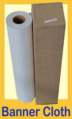 640mm Inkjet Banner Cloth Roll 130gsm / 50m long for HIGH resolution printing