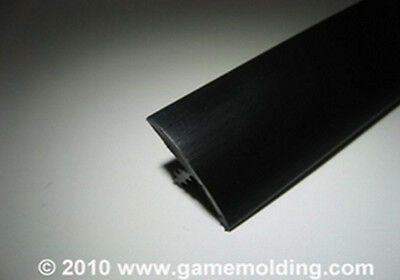 20 FT 3/4 INCH SMOOTH BLACK  ARCADE T-MOLDING SALE!