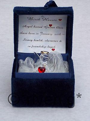 Premium 3 GUARDIAN ANGEL WORRY Box@Glass & CRYSTAL@Mirror Gift set@BLESSING BOX