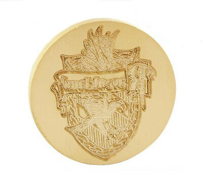 New Classic Harry Potter Ravenclaw Badge Vintage Copper Seal Stamp Freeshipping