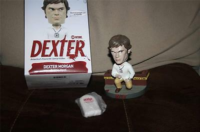 Dexter Bobblehead with SOUND Keychain Series Showtime MINTY New Exclusive