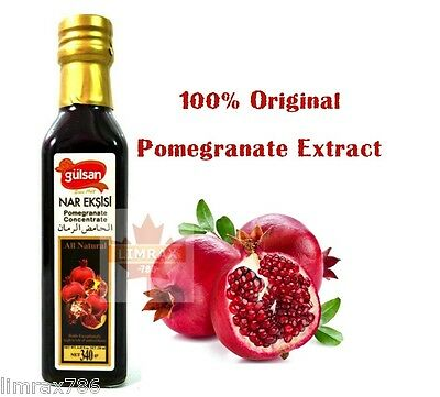 GULSAN Nar Eksisi Pomegranate Concentrate Original Extract 250ml Healthy Drink