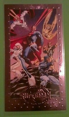 TO LEAD THE JUSTICE LEAGUE #65 PREMIUM PLATINUM EDITION MAN OF STEEL 1994 SKYBOX